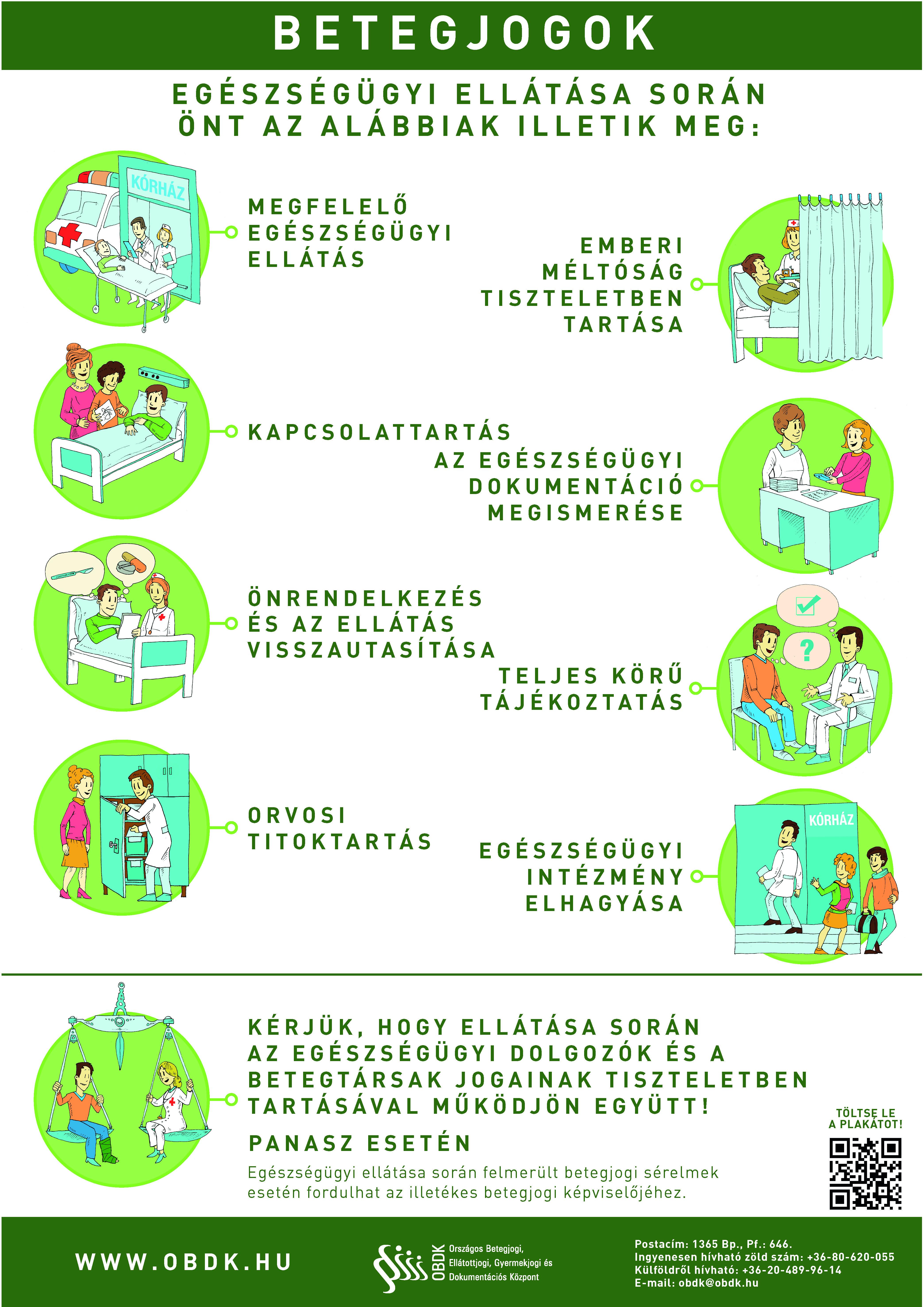 a dohányzásról lemondó személy egészségi állapota)