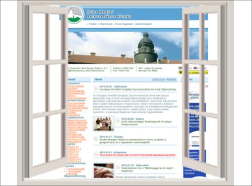 Előző honlapunk