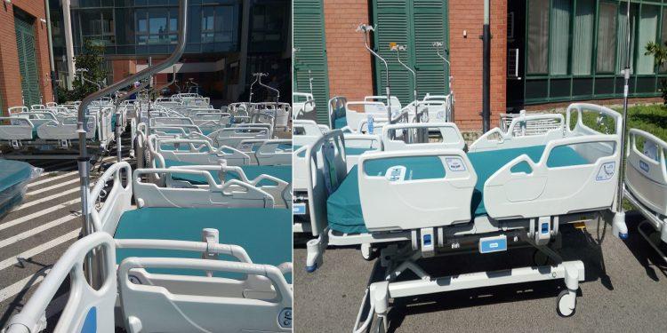 Csúcsminőségű, új ágyakat kapott a Tolna Megyei Balassa János Kórház