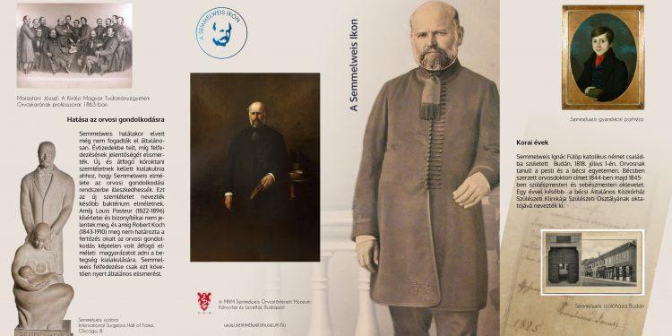 """A Semmelweis-emlékév kapcsán egy hónapig látható a Balassa János Kórház folyosógalériáján """"A Semmelweis Ikon"""" című vándorkiállítás"""