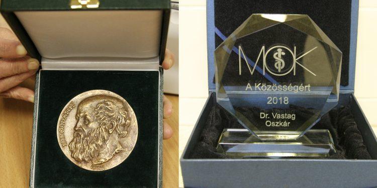Rangos MOK-elismerést kapott kórházunk két orvosa