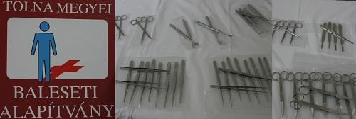 Ötszázezer Ft értékben kapott orvosi eszközöket a megyei kórház Traumatológiai Osztálya a Tolna Megyei Baleseti Alapítványtól